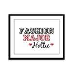 Fashion Major Hottie Framed Panel Print