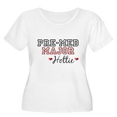 Pre-Med Major Hottie Women's Plus Size Scoop Neck