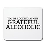 Grateful Alcoholic Mousepad
