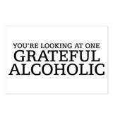 Grateful Alcoholic Postcards (Package of 8)