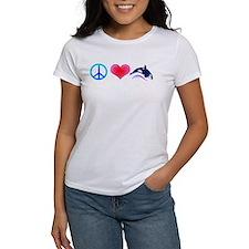 Peace Love Orca Tee