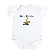Eat ... Sleep ... COBRAS Infant Bodysuit
