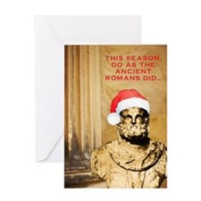 Saturnalia Greeting Card