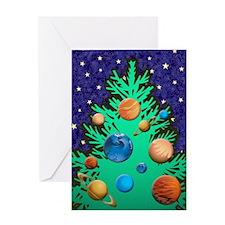 Stellar Solstice Greeting Card