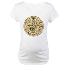 St Benedict Medal: Latin + Translation Shirt