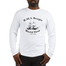 HMS Beagle world tour Long Sleeve T-Shirt