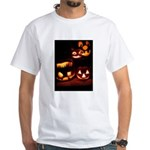 Halloween Pumpkins White T-Shirt