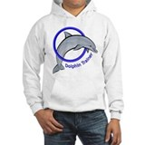 Dolphin Trainer Blue Jumper Hoody