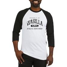 Property of Wasilla Athletic Baseball Jersey
