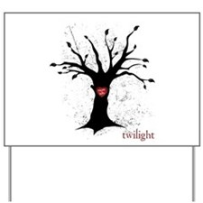 Twilight Edward Bella Tree Yard Sign