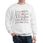 Twilight Hearts Collage Sweatshirt