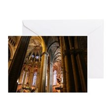 Church - Barcelona Spain Greeting Cards (Pk of 20)