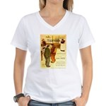 l'Escarmouche Women's V-Neck T-Shirt