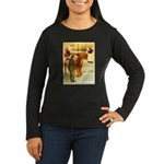 l'Escarmouche Women's Long Sleeve Dark T-Shirt