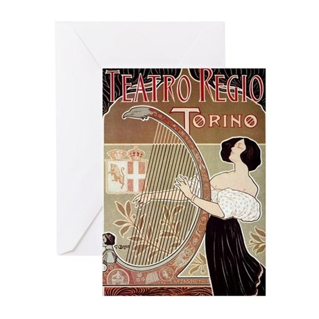 Teatro Reslo Greeting Cards (Pk of 10)