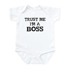 Trust Me: Boss Infant Bodysuit