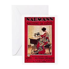 Naumann Sewing Greeting Card