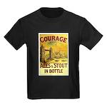 Courage Ales & Stout Kids Dark T-Shirt