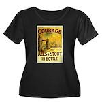 Courage Ales & Stout Women's Plus Size Scoop Neck