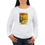 Courage Ales & Stout Women's Long Sleeve T-Shirt