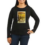 Courage Ales & Stout Women's Long Sleeve Dark T-Sh