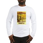 Courage Ales & Stout Long Sleeve T-Shirt