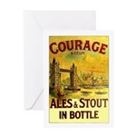 Courage Ales & Stout Greeting Card