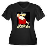 Le Bon Bock Atlantique Women's Plus Size V-Neck Da
