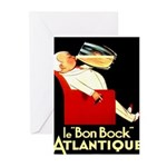 Le Bon Bock Atlantique Greeting Cards (Pk of 20)