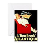 Le Bon Bock Atlantique Greeting Cards (Pk of 10)