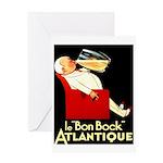 Le Bon Bock Atlantique Greeting Card