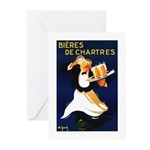 Bières de Chartres Greeting Cards (Pk of 20)