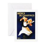 Bières de Chartres Greeting Cards (Pk of 10)