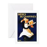 Bières de Chartres Greeting Card