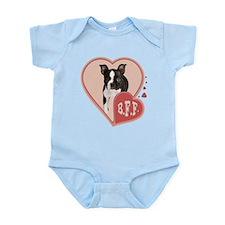 BFF Boston Terrier Infant Bodysuit