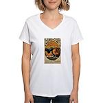 Cognac des Oeufs Women's V-Neck T-Shirt