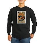 Cognac des Oeufs Long Sleeve Dark T-Shirt