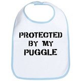 Protected by Puggle Bib