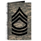 Master Sergeant Personal Log Book 4