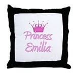 Princess Emilia Throw Pillow