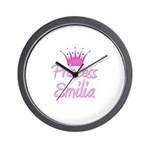Princess Emilia Wall Clock