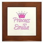 Princess Emilia Framed Tile