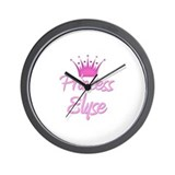 Princess Elyse Wall Clock