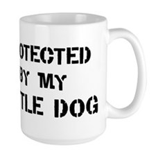 Protected by Cattle Dog Mug