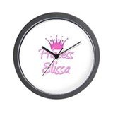 Princess Elissa Wall Clock