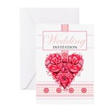 Romantic Wedding Greeting Cards (Pk of 20)