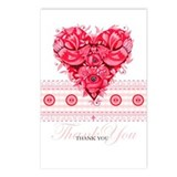 Romantic Wedding Postcards (Package of 8)