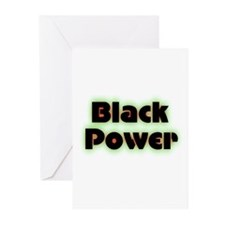 Black Power Greeting Cards (Pk of 20)