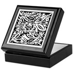 Black and White Wedding Keepsake Box