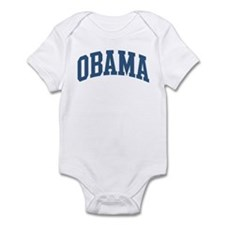Obama Collegiate Style Name Infant Bodysuit